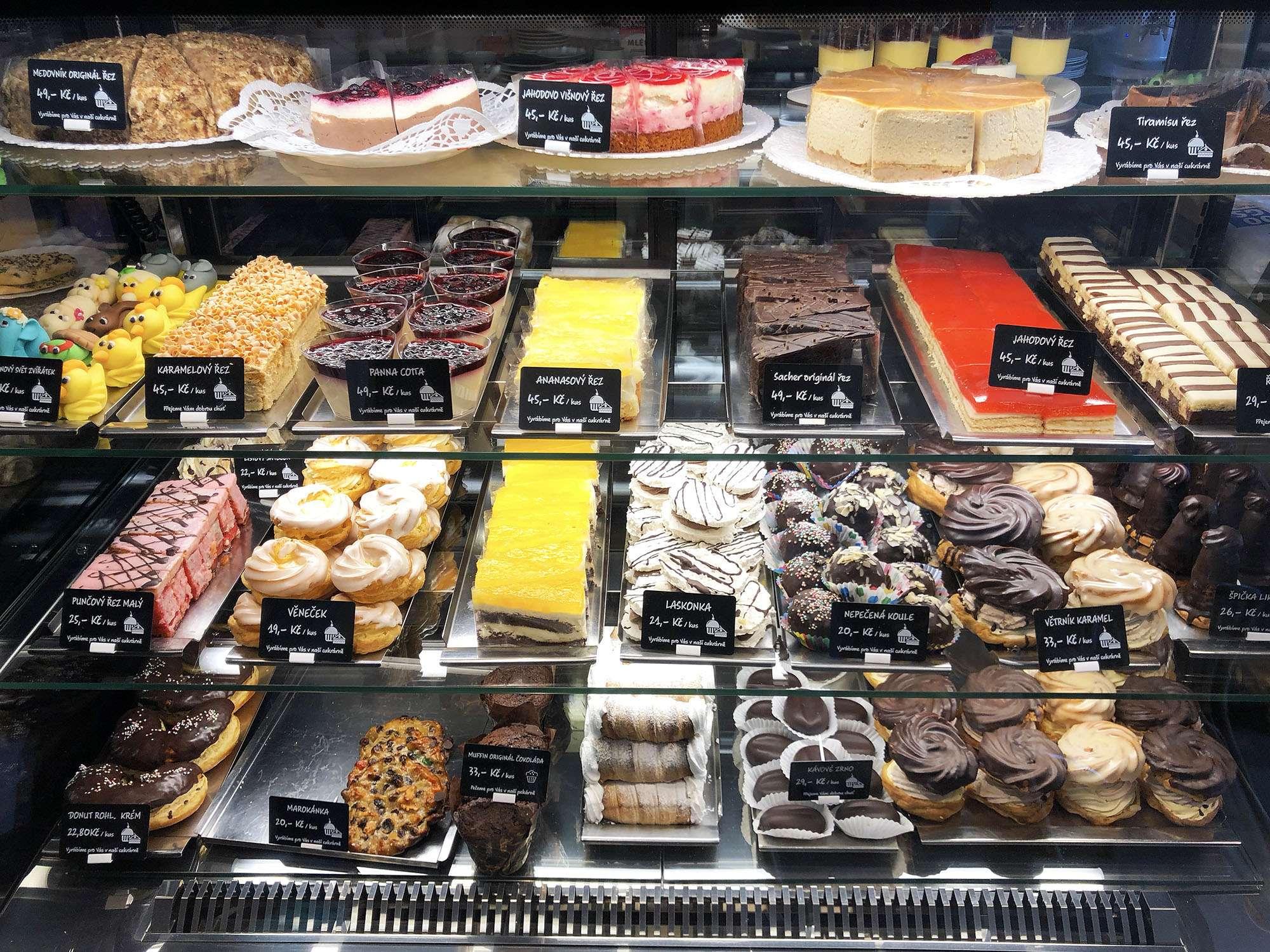 Dorty, řezy a cukrářské výrobky od Stibůrkovo Pekařství